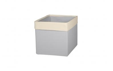 Textilný box do regálu SKANDI - šedo béžová