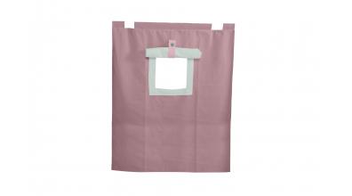 Závesná textília PASTEL palanda nízka - fialová