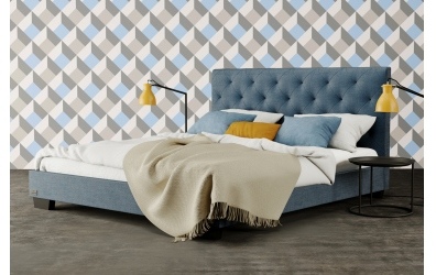 Čalúnená posteľ Alesia,120x200, MATERASSO