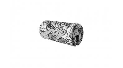 Textília chránič guľatý, krátky COMICS - čiernobiely