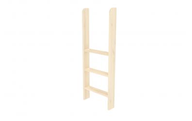 Rebrík k zvýšenému jednolôžku  zvislý smrek