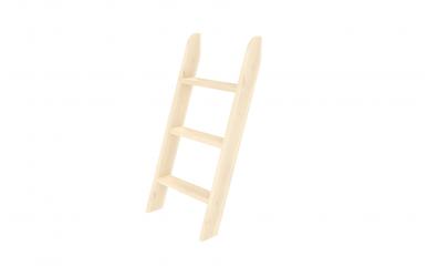 Rebrík k zvýšenému jednolôžku  šikmý smrek