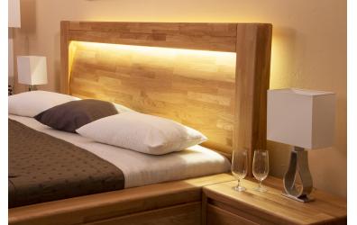 LED osvetlenie postele IMPERIA - studená biela