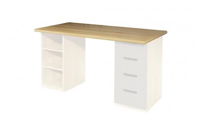 Doska pre písací stôl 1270 mm, buk cink