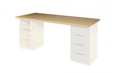 Doska pre písací stôl 1500 mm, buk cink