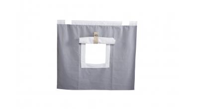 Závesná textília SKANDI pod zvýšené jednolôžko