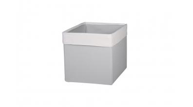 Textilní box do regálu SKANDI krémovo šedý
