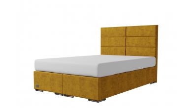 Čalúnená posteľ boxspring CORONA 140x200, MATERASSO