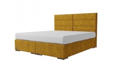Čalúnená posteľ boxspring CORONA 180x200, MATERASSO