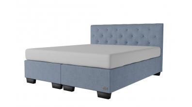 Čalúnená posteľ boxspring ALESIA 180x200, MATERASSO