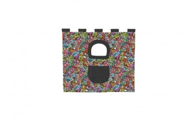Textília 5 COMICS - zvýšené jednolôžko 1175 mm  farebný