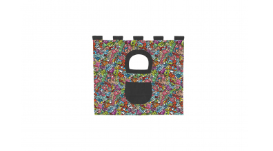 Závesná textília COMICS pod zvýšené jednlôžko - farebné