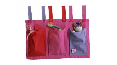 Textilné vrecká  ružové