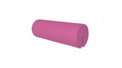 Textília  chránič guľatý - ružový