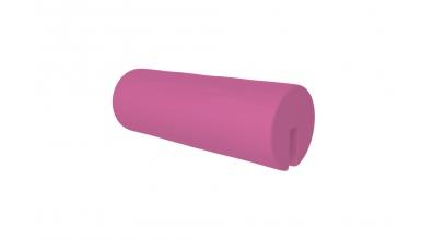 Textília  chránič guľatý ružový
