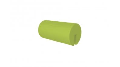 Textília  chránič guľatý krátky zelený