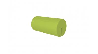 Textília chránič guľatý, krátky - zelený