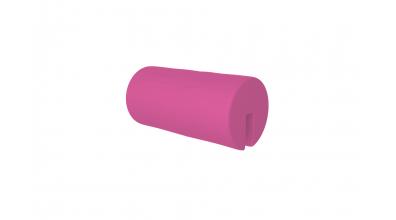 Textília  chránič guľatý krátky ružový