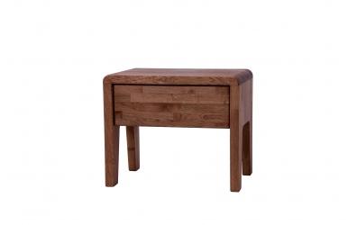 Nočný stolík FANTAZIA dub cink