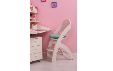 Sedák na kláru 1 pastel ružový
