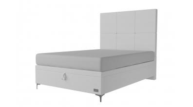 Čalouněná postel boxspring výklop Maxi GEMINI, 140x200, MATERASSO