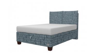Čalouněná postel boxspring výklop Maxi KINGSTONE, 140x200, MATERASSO