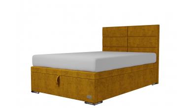 Čalouněná postel boxspring výklop Maxi CORONA, 140x200, MATERASSO