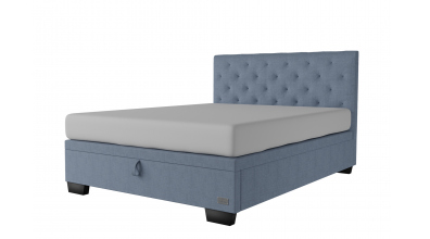 Čalouněná postel boxspring výklop Maxi ALESIA, 160x200, MATERASSO