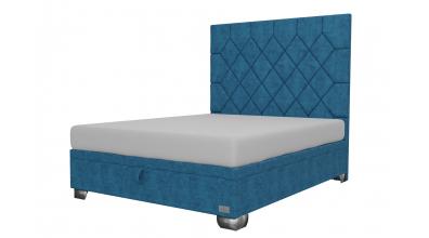 Čalouněná postel boxspring výklop Maxi RHOMBUS, 160x200, MATERASSO