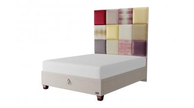 Čalouněná postel boxspring Maxi PARIS, 160x200, MATERASSO