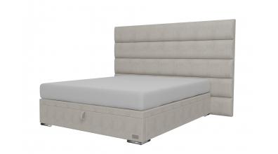 Čalouněná postel boxspring výklop Maxi HORIZONTAL, 160x200, MATERASSO