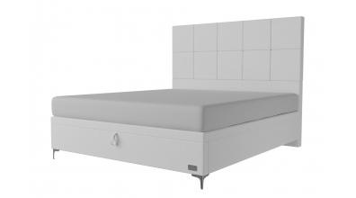 Čalouněná postel boxspring výklop Maxi GEMINI, 180x200, MATERASSO