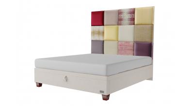 Čalouněná postel boxspring výklop Maxi PARIS, 180x200, MATERASSO
