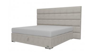 Čalouněná postel boxspring výklop Maxi HORIZONTAL, 180x200, MATERASSO