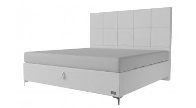 Čalouněná postel boxspring výklop Maxi GEMINI, 200x200, MATERASSO