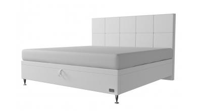 Čalouněná postel boxspring výklop Maxi VEGA, 200x200, MATERASSO