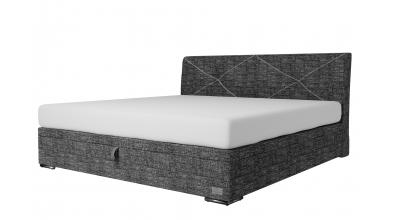 Čalouněná postel boxspring výklop Maxi ATLAS, 200x200, MATERASSO