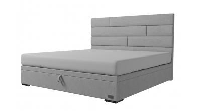 Čalouněná postel boxspring výklop Maxi SPECTRA, 200x200, MATERASSO