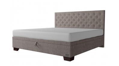 Čalouněná postel boxspring výklop Maxi VELORUM, 200x200, MATERASSO