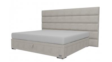 Čalouněná postel boxspring výklop Maxi HORIZONTAL, 200x200, MATERASSO