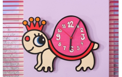 Detské hodiny  korytnačka