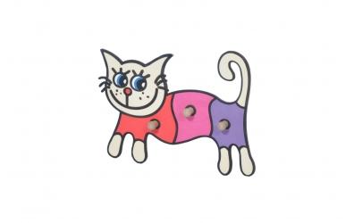 Detský vešiak  mačka