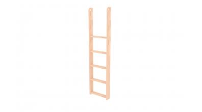 Rebrík k palande  na bočnici s otvormi buk cink