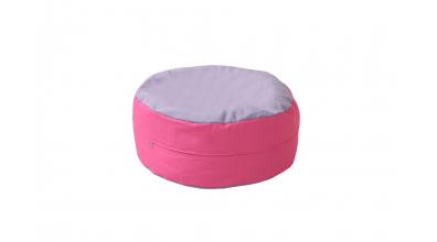 Sedací vankúš - ružovo fialový