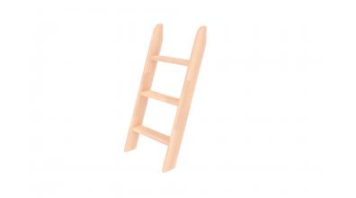 Rebrík k zvýšenému jednolôžku, šikmý, buk cink