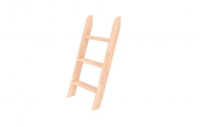 Rebrík k zvýšenému jednolôžku  šikmý buk cink
