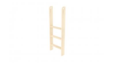 Rebrík k zvýšenému jednolôžku  zvislý s otvormi smrek