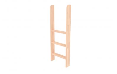 Rebrík k zvýšenému jednolôžku  zvislý buk cink