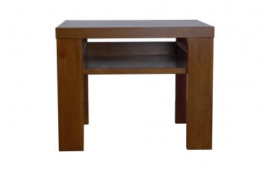 Nočný stolík 2 s policou buk cink