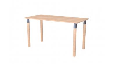 Písací stôl MAXI, buk cink